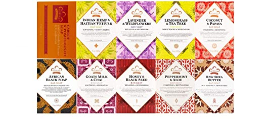 Nubian Heritage Assorted Soap Combo (10 Pack) ... iwgl by N/A