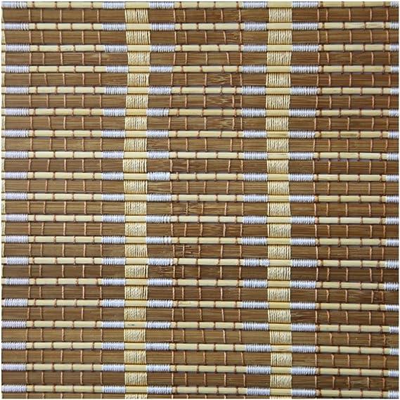 WUFENG - Cortina Enrollable de bambú para Puerta de Entrada ...