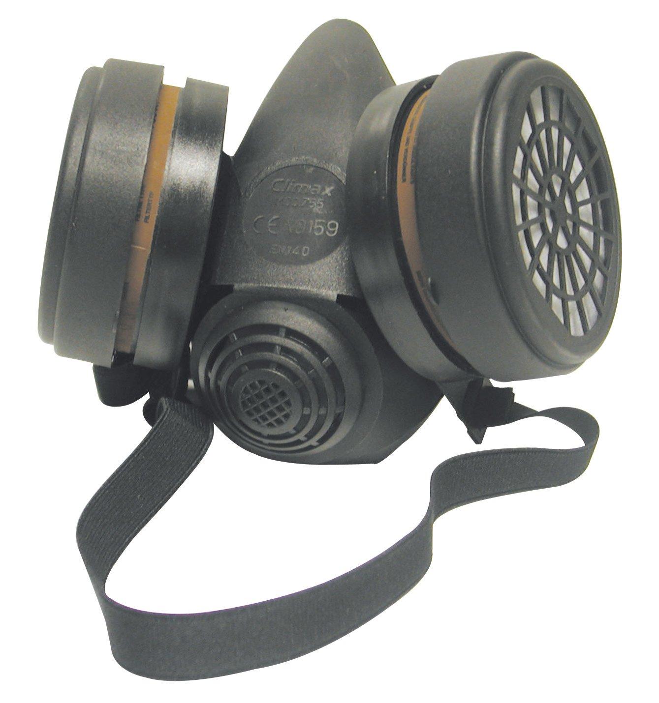 Mecafer 154283 M3 Masque protection avec 2 x A1 filtres.