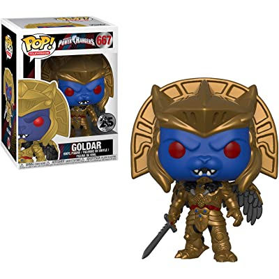 Funko Pop Television: Power Rangers - Goldar Collectible Figure, Multicolor: Toys & Games