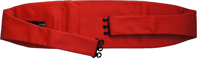 Rot Kummerbund und Fliege Set rot