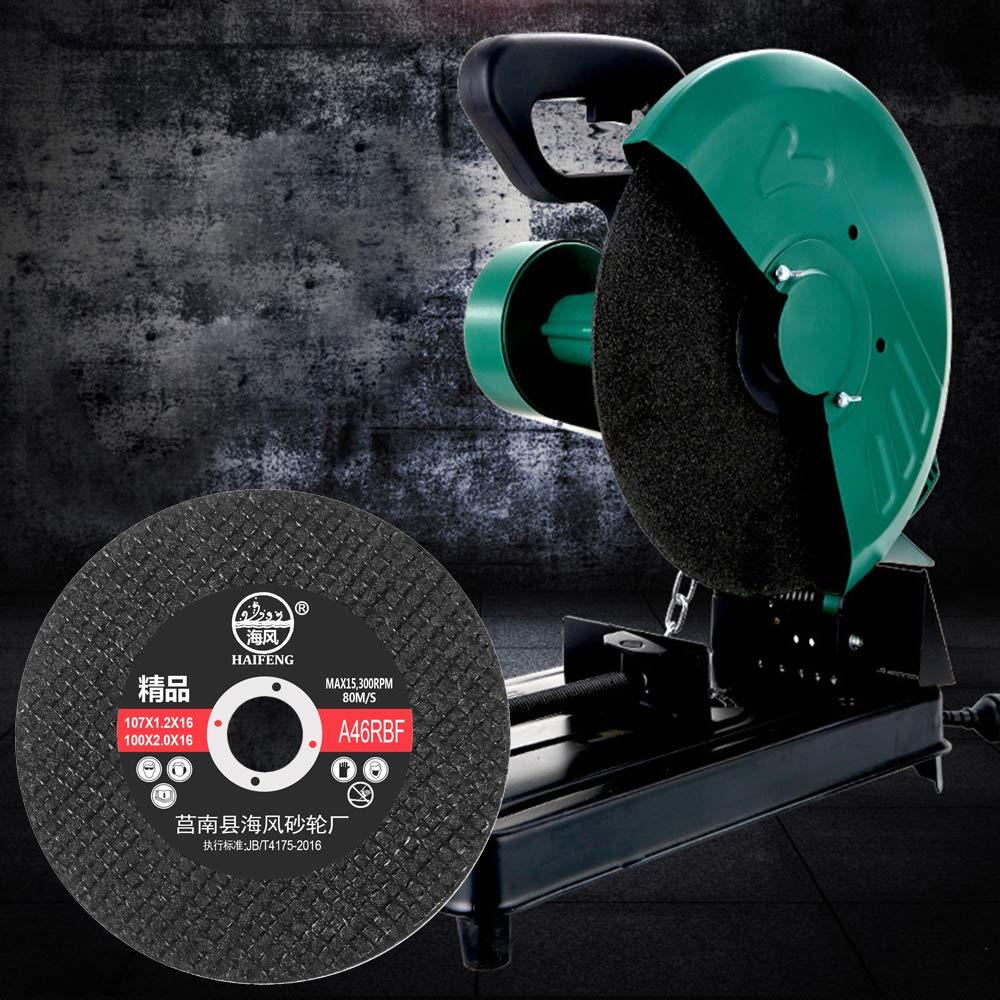 Grinding Discs with 4.2/'/'x 3//5/'/' Premium Zirconia Resin Fiber Standing Discs 60 Grit Diamond Grinding Wheel,Pack of 50 HAVARGO