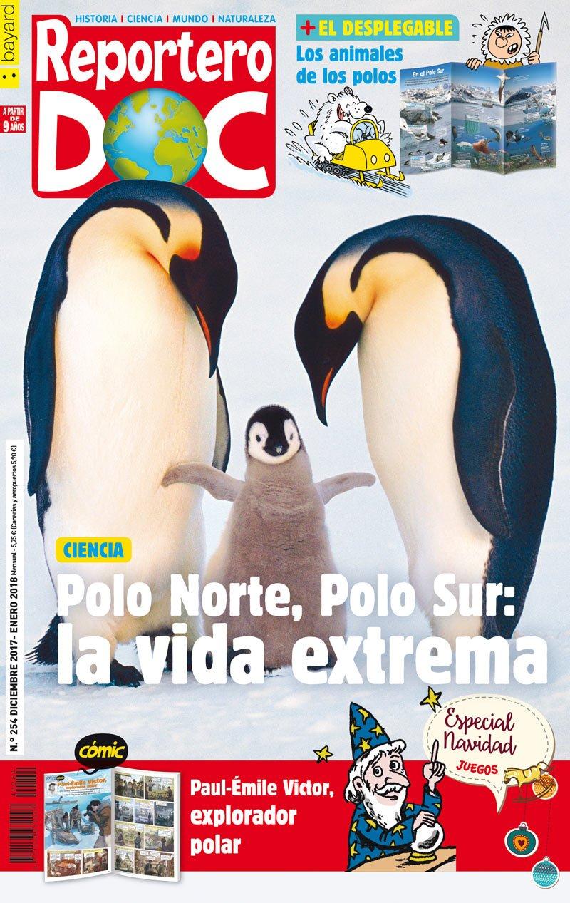 Reportero Doc. Polo Norte, Polo Sur. La vida extrema. Revista ...