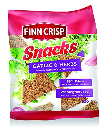 Finn Crisp Snacks Herbs & Garlic (2 x ...