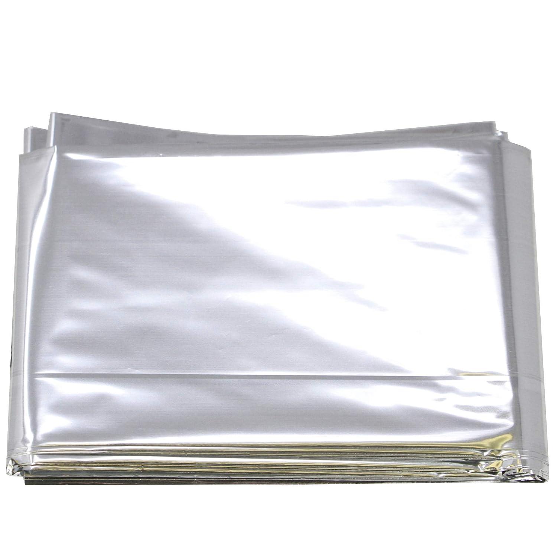 Thermal Emergency Rescue Space Mylar Blanket 84 x 52 Windproof Waterproof New