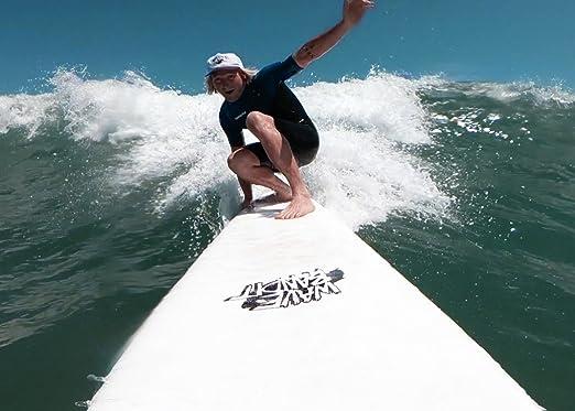 Amazon.com : Wave Bandit Ben Gravy Pro EZ Rider Surfboard, White, 80 : Sports & Outdoors