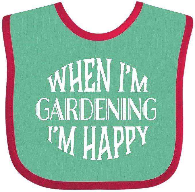 inktastic I Love Gardening Gift for Gardener Baby T-Shirt