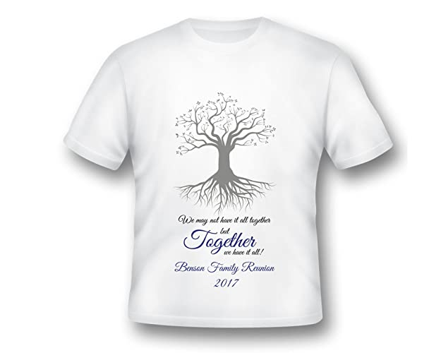 Amazon Com Family Reunion Shirt Family Printed T Shirt Printed