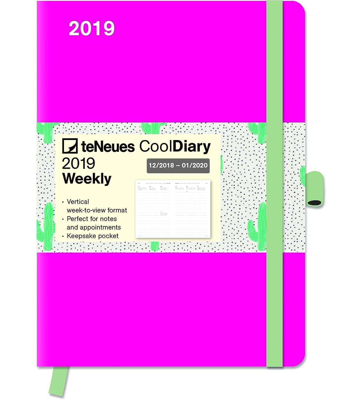 Agenda de bolsillo 2019 Cool- agenda Fuschia Rosa - Cactus ...