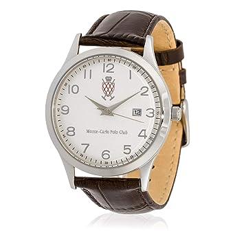 Monte-Carlo Polo Club - Reloj de Cuarzo para Hombre con Esfera ...