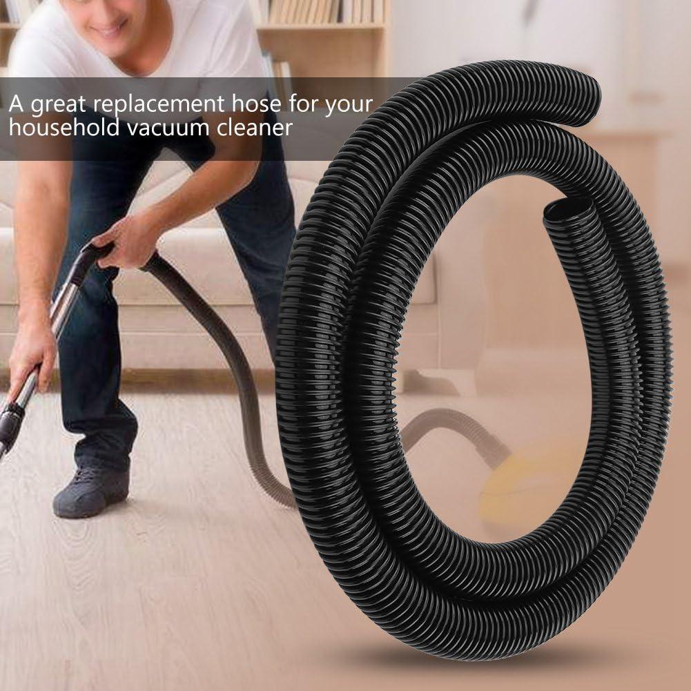 DERCLIVE 2 M Tuyau Flexible Tuyau Souple Tuyau Int/érieur 32 Mm Ext/érieur 39 Mm Accessoire Daspirateur Domestique Noir