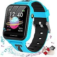 Smooce smartwatch kind Telefoon, kids smartwatch Muziekspeler met Sd-kaart 7 Puzzel Games Call SOS Camera Alarm Recorder…