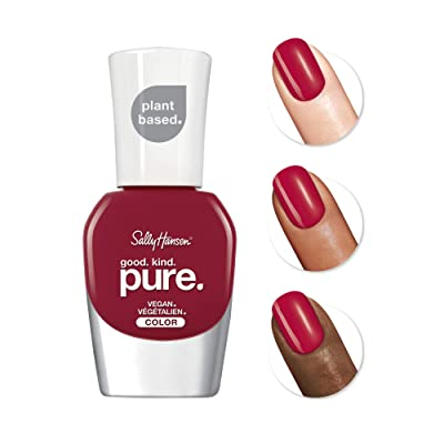 Buy Sally Hansen - Good. Kind. Pure Vegan Nail Polish, Cherry amore