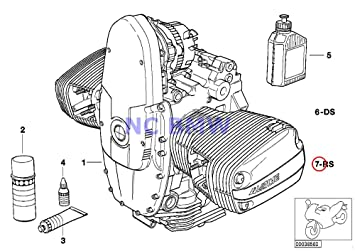 BMW Genuine OIL Filter Change Repair kit R1100GS R1100R R1100RS R1100RT R1100S R1150 Adventure R1150GS R1150R Rockster R1150RS R1150RT R1200C R1200CL R1200 Montauk R850R