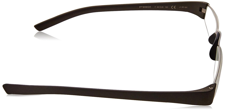 649a89839ded Amazon.com  Porsche Design P8801 Eyeglasses 8801 F Men frame Gun Metal