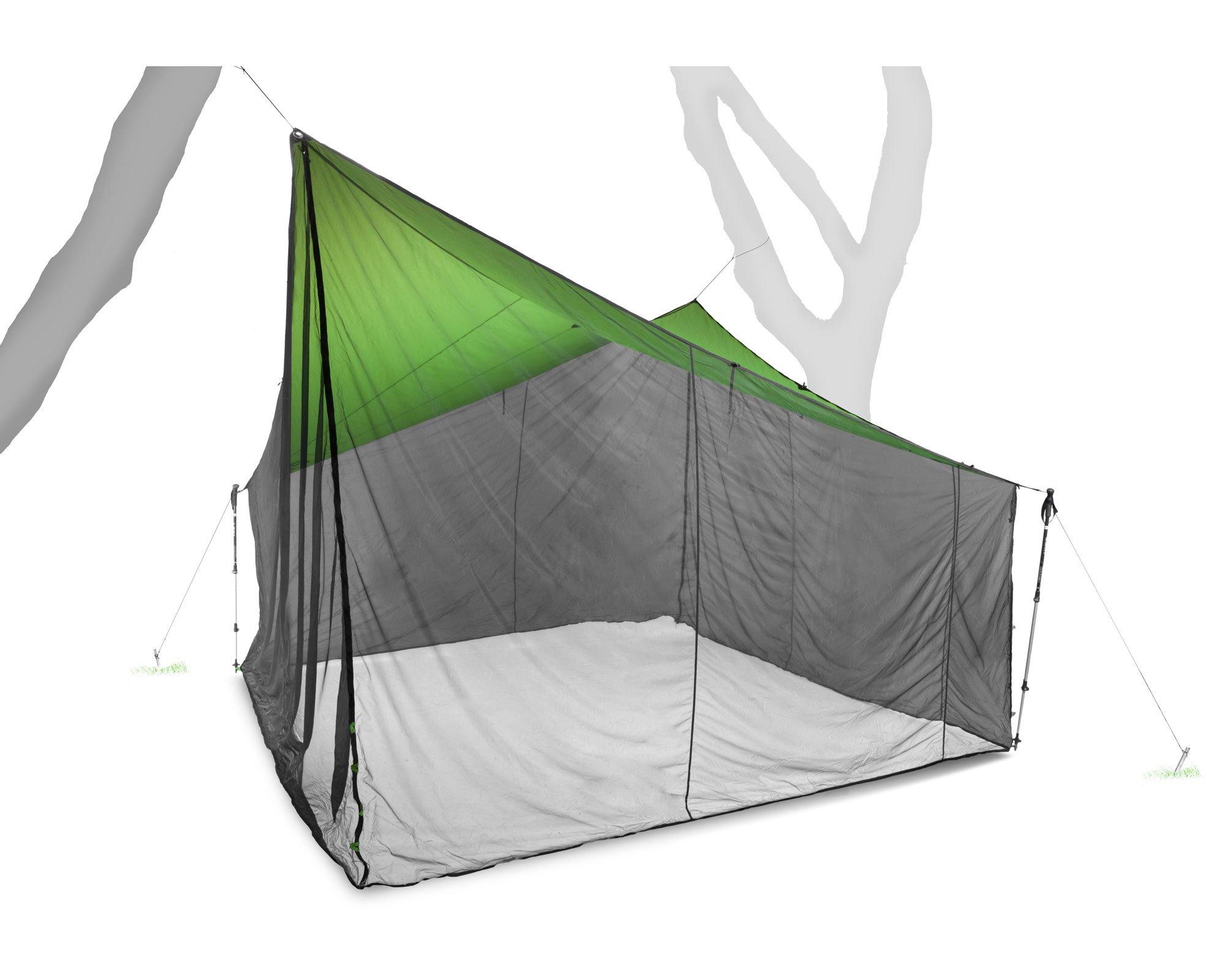 Nemo Equipment Bugout Tent (Green/Black, 12 x 12-Feet) by Nemo Equipment