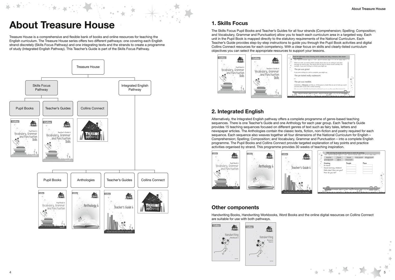 Workbooks grammar and punctuation workbook : Treasure House – Vocabulary, Grammar and Punctuation Teacher Guide ...