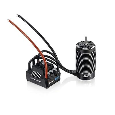 HOBBYWING Ezrun MAX6 Combo (MAX ESC + Ezrun MAX 4985 SL Motor -1650KV): Toys & Games