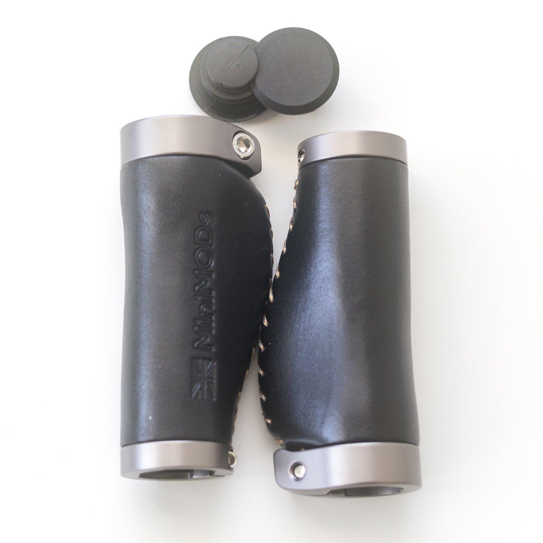 Minimod ergonomique Cuir italien de grips Noir