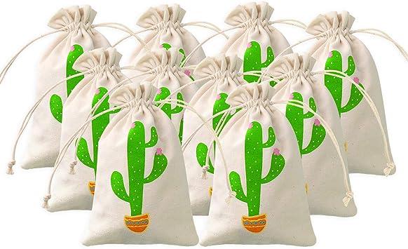 Amazon.com: Cactus - Bolsas de regalo para fiesta, diseño de ...