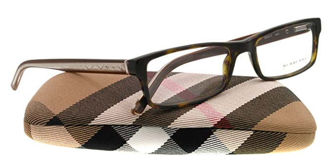 3856ba37c20 Image Unavailable. Image not available for. Colour  Burberry Eyeglasses  BE2105 3287 in DARK HAVANA ...