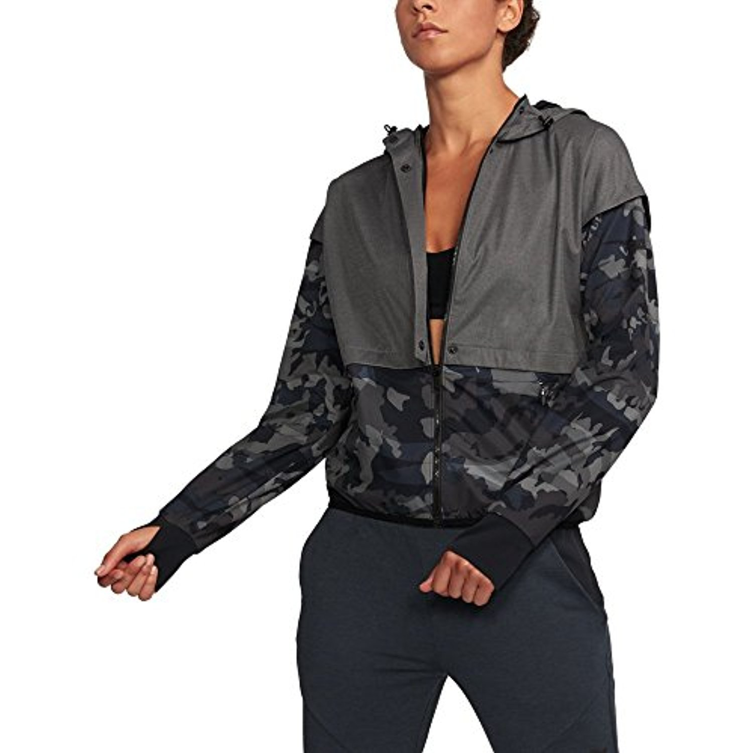 4e3a6d03d1b41f Under Armour UA Unstoppable Gore Windstopper LG Black: Amazon.co.uk:  Clothing