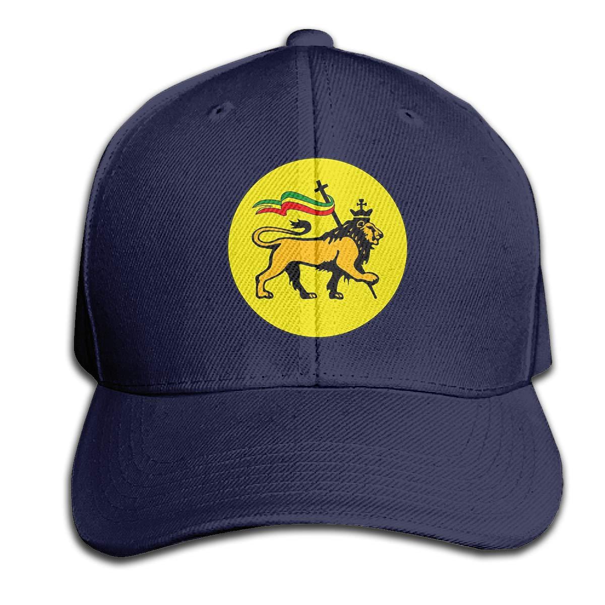 Lion of Judah Flag Hat Mens Vintage Washed Personalized Hats
