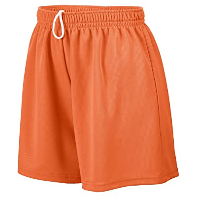 Augusta Sportswear Girl's Wicking Mesh Short