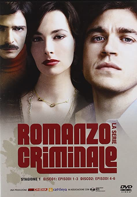 Amazon.com: Romanzo Criminale - Stagione 01-02 (8 Dvd) [Italian Edition]: marco giallini, francesco montanari, stefano sollima: Movies & TV
