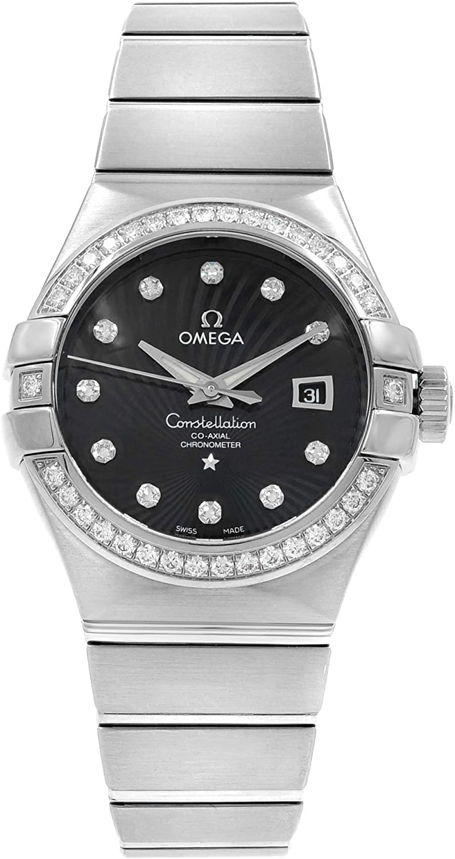 Omega Constellation 123.55.31.20.51.001 - Reloj de pulsera coaxial, cuerda automática, diamante K18wg Innocence