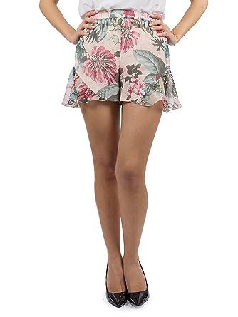 37a2fbc8e422 Guess Women s Shorts Pink Pink  Amazon.co.uk  Clothing