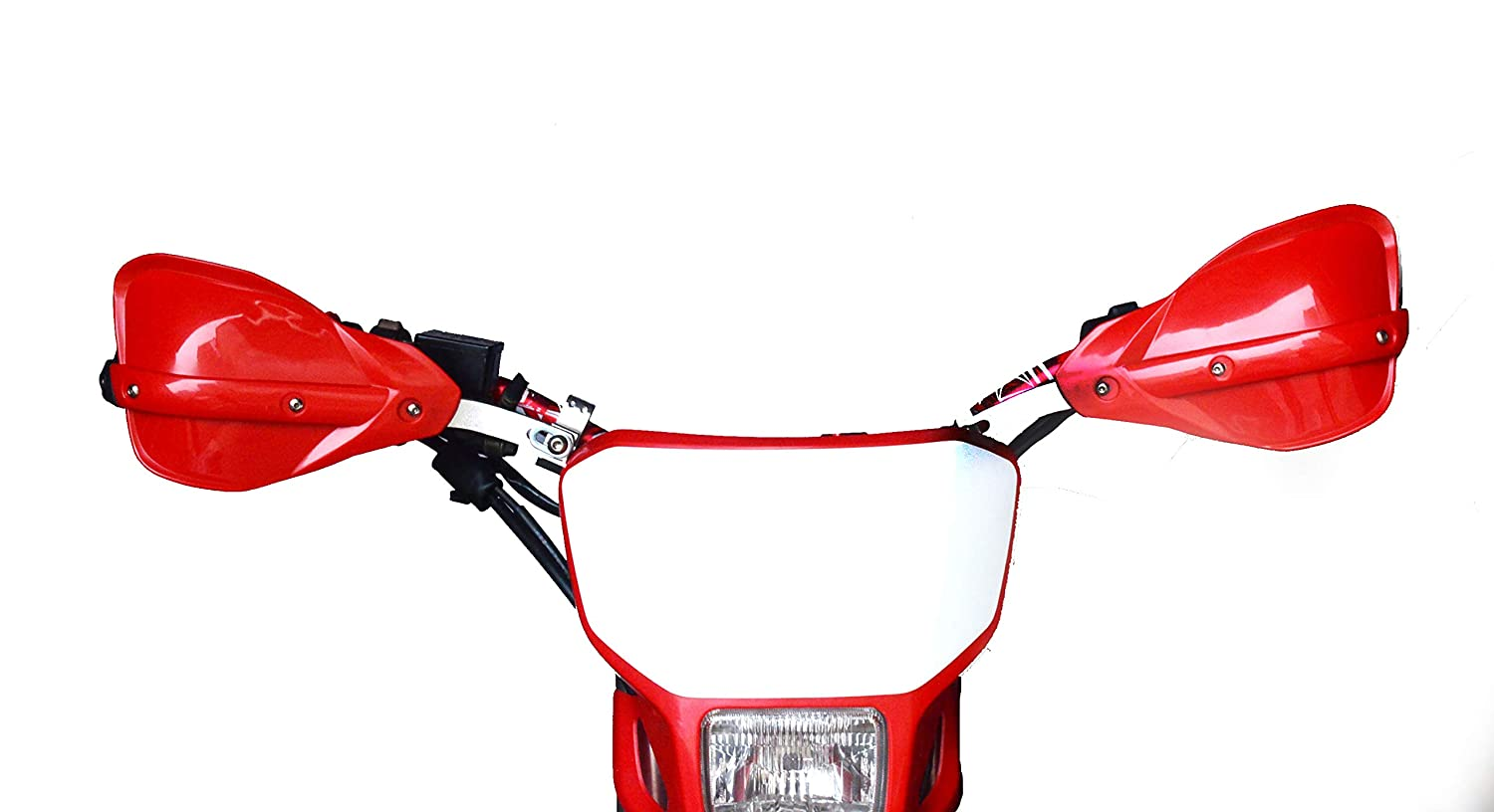 Handguards Motorcycle Hand Guards Motocross Red Universal Aluminum Alloy 7//822mm And 1 1//828mm For Honda CRF CR XR CB CBR 85 110 125 150 230 250 400 600 650 Dirt Pit Bike Racing ATV Quad KAYO