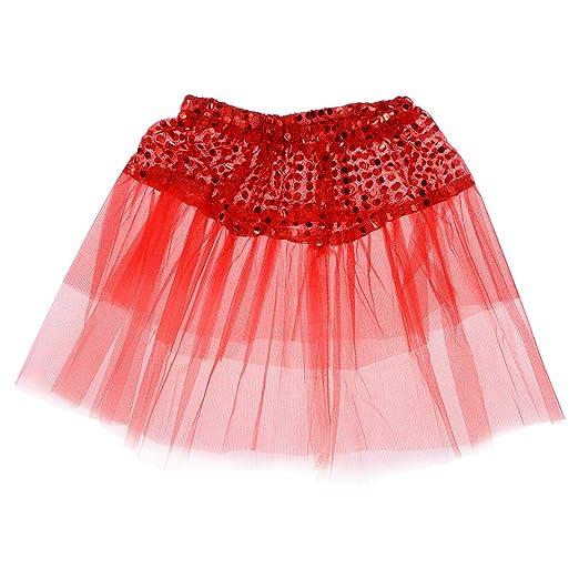 TENDYCOCO Falda de Baile de Bailarina con Falda de tutú de ...