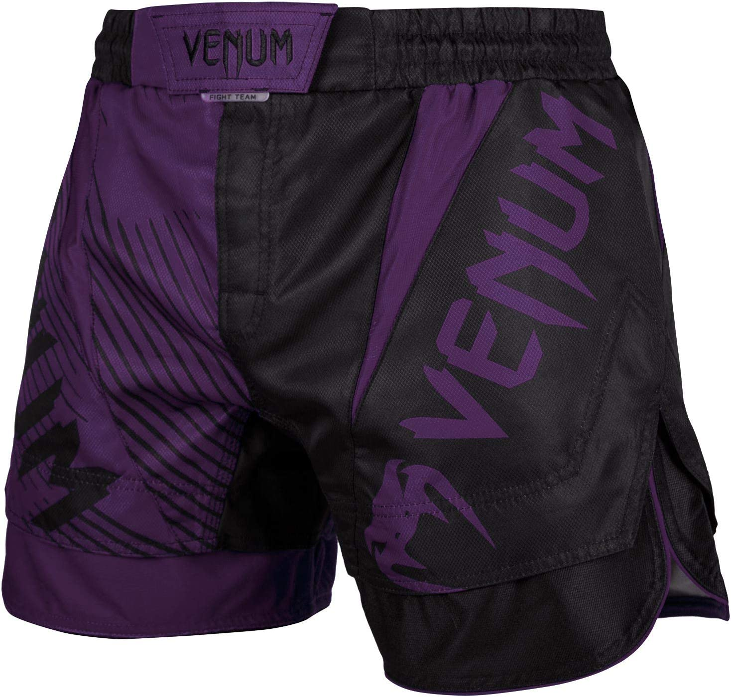 Venum Nogi 2.0 Fightshorts - Black-S, Black, Small