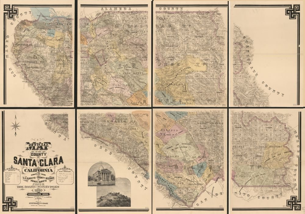 Amazoncom Vintage To Map Of San Diego County - 1889 us railroad map