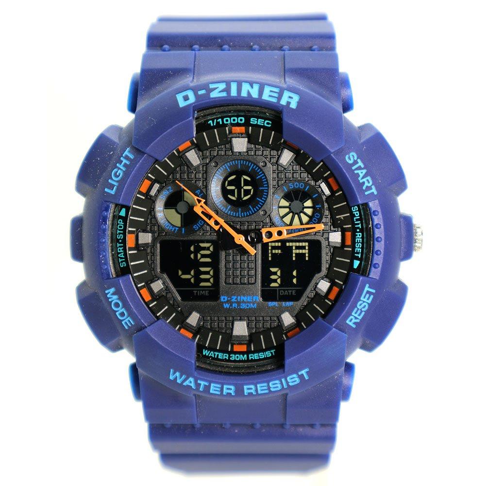 d-ziner Unisex Digital y analógica reloj para la práctica de ...