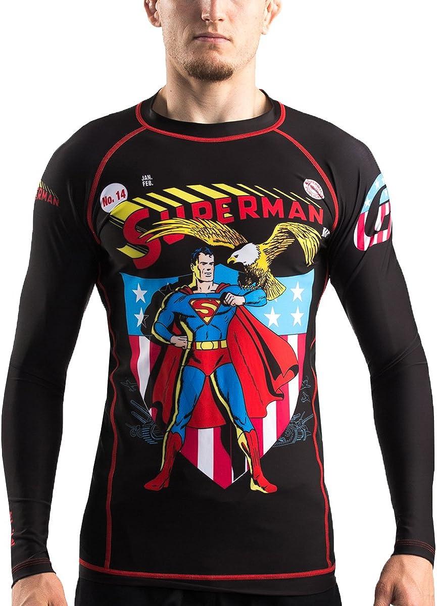 Fusion Fight Gear Superman Justice League Kingdom Come BJJ Gi