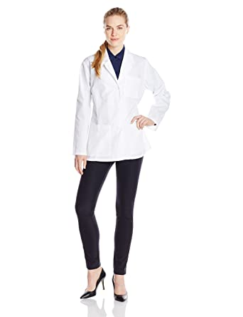 bc395dffa8f Amazon.com: Dickies Women's 28-Inch Lab Coat: Clothing