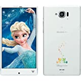 Disney Mobile on docomo SH-02G (Sparkling White)