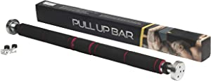 McFitness Pull Up Bar, Exercise Equipment and Gym Equipment for Home or Flat, Adjustable with Door Mounts, Pullup Bar Gym Equipment for Men or Women