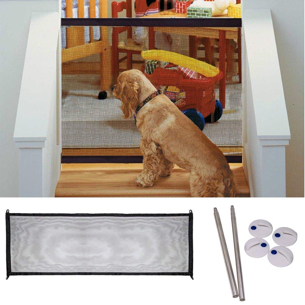 Magic Gate Portable Folding Safe Guard Install Anywhere Pet Safety Enclosure