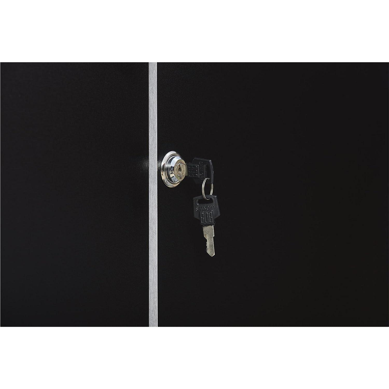 SystemBuild 7469056COM Apollo Wall Cabinet Black