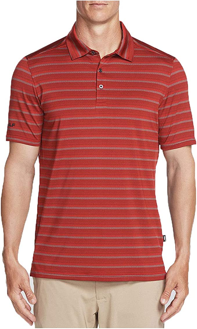 Golf Approach Stripe Polo