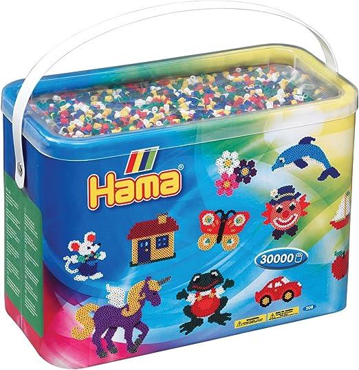 Hama - Abalorio de juguete (208-68) , Modelos/colores Surtidos, 1 Unidad: Amazon.es: Juguetes y juegos