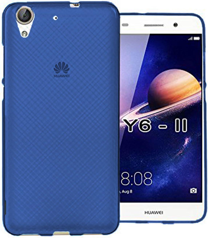 TBOC® Funda de Gel TPU Azul para Huawei Y6II - Y6 II: Amazon.es ...