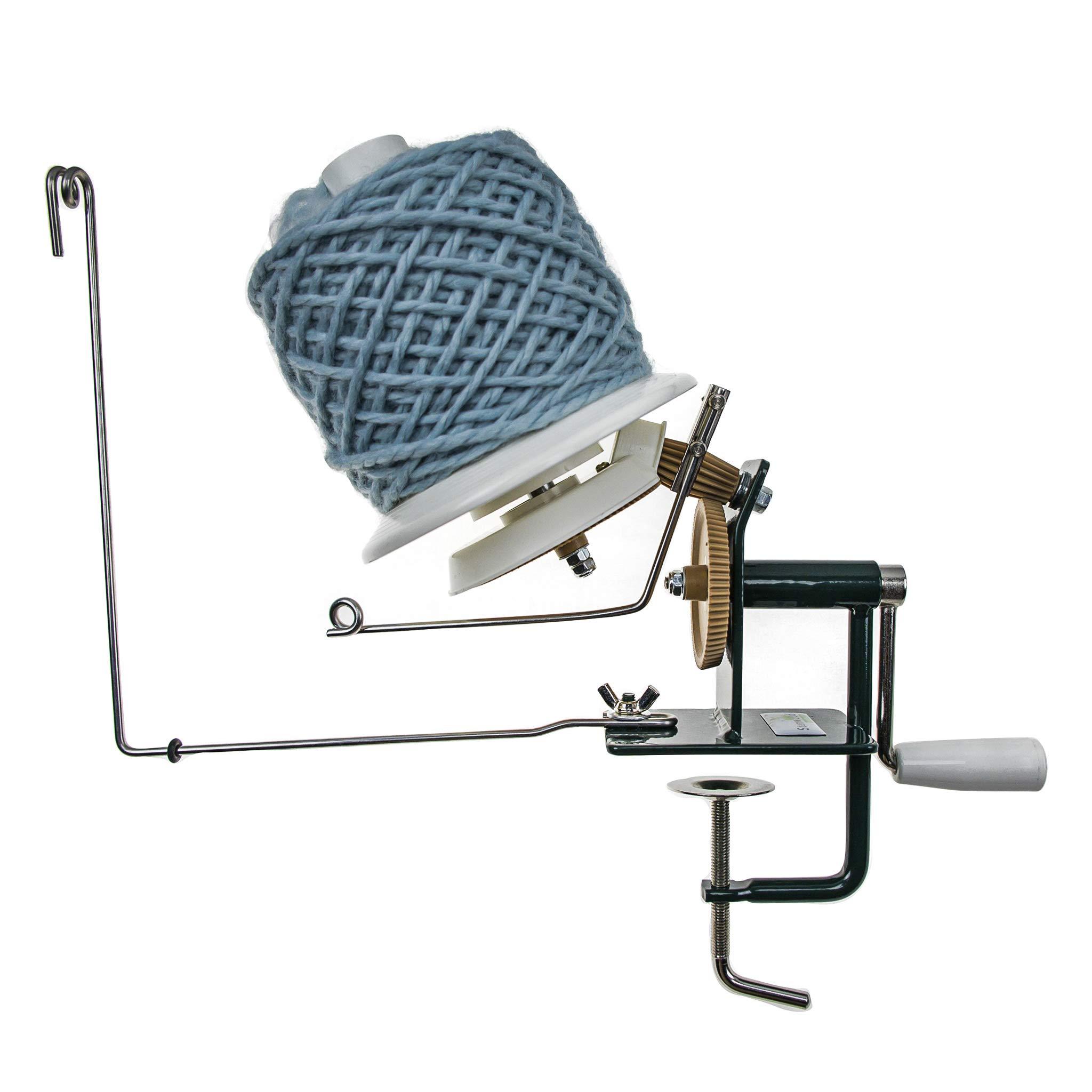 Stanwood Needlecraft Large Metal Yarn/Fiber/Wool/String Ball Winder, 10-Ounce by Stanwood Needlecraft (Image #5)