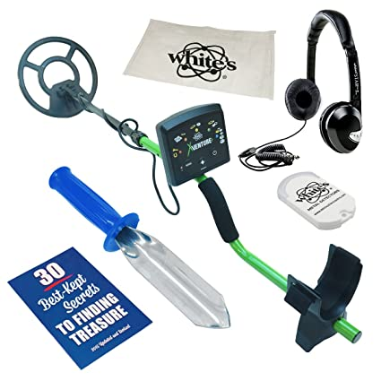 Amazon.com : Whites XVenture Metal Detector GEARED UP Bundle : Garden & Outdoor