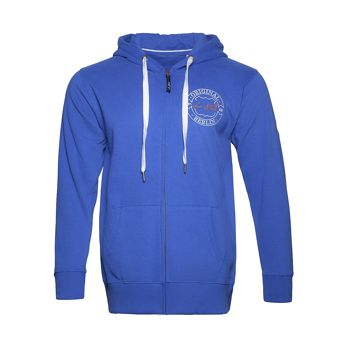 LFM Hoody Star Zip 84392 – Royal