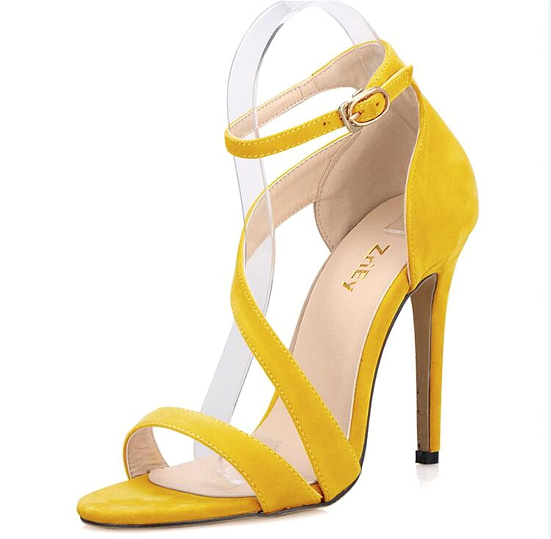 Twinkle UU Ankle Strap Shoes Pumps Women Sandals Summer Shoes Strap Woman Plus Size 35-42 Ladies Wedding Candy BY17860 8.5 M US apricot B07DQH7Q8J 7c07e8