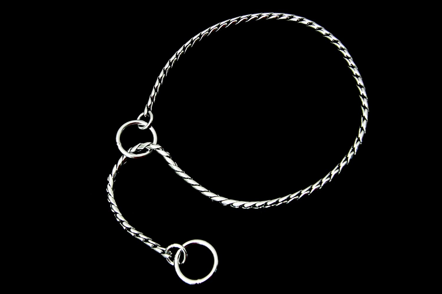 Chrome Plate Alvalley Snake Show Chain for Dogs Thickness 5,5mm x 18 in